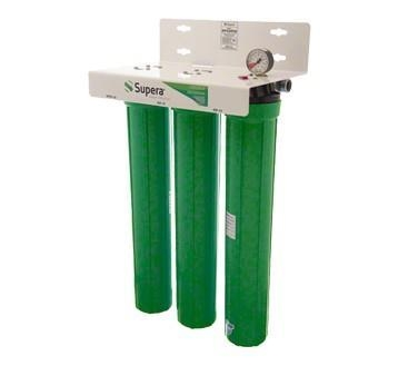 (IFP-C24F40) Triple Water Treatment Filter System and Sediment Pre-Filter - Supera LLC